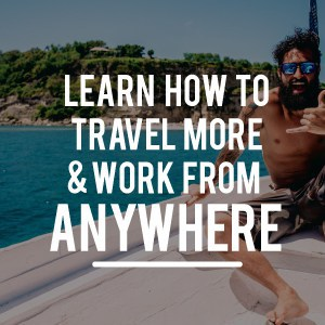 Travel more and work from anywhere.