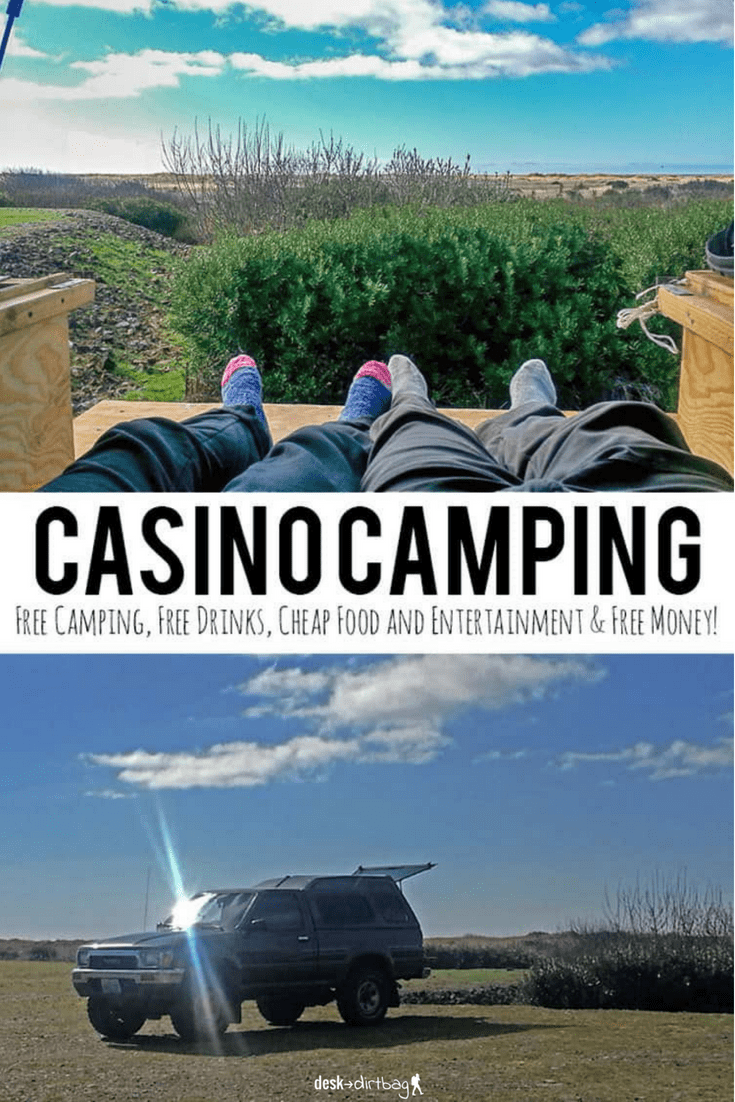 Did you know that many casinos across the US offer free camping, free drinks, cheap food & entertainment, and even free money to play? Casino camping rocks.