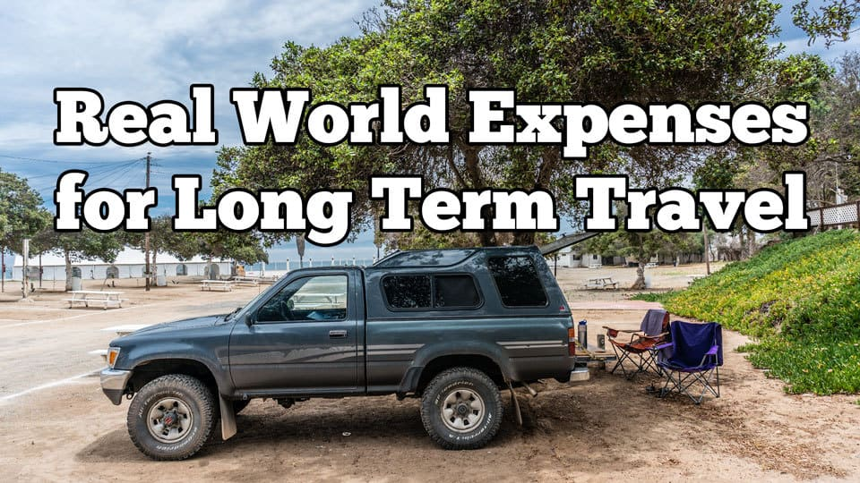 real world travel expenses for long term road trips