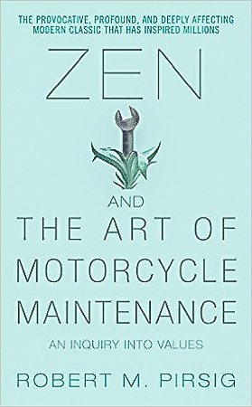 Zen and the Art of Motorcycle Maintenance, a must read travel book