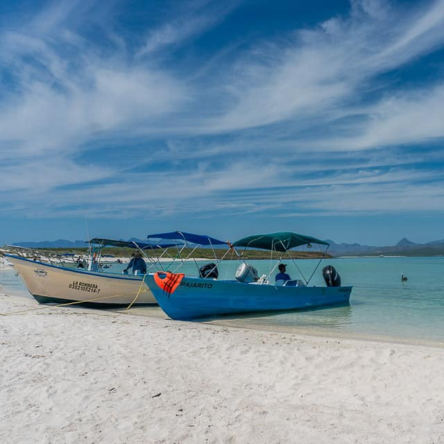 Coronado Island off of Loreto, Mexico