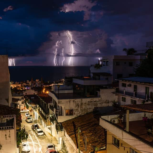 Lightning in Puerto Vallarta