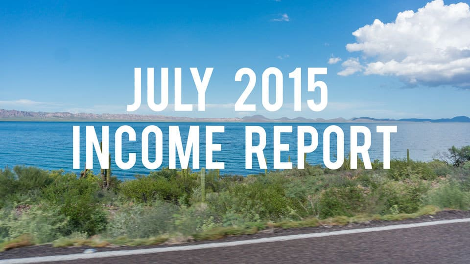 July 2015 Income Report