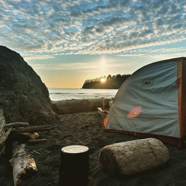 Camping along Washington's Pacific Coast