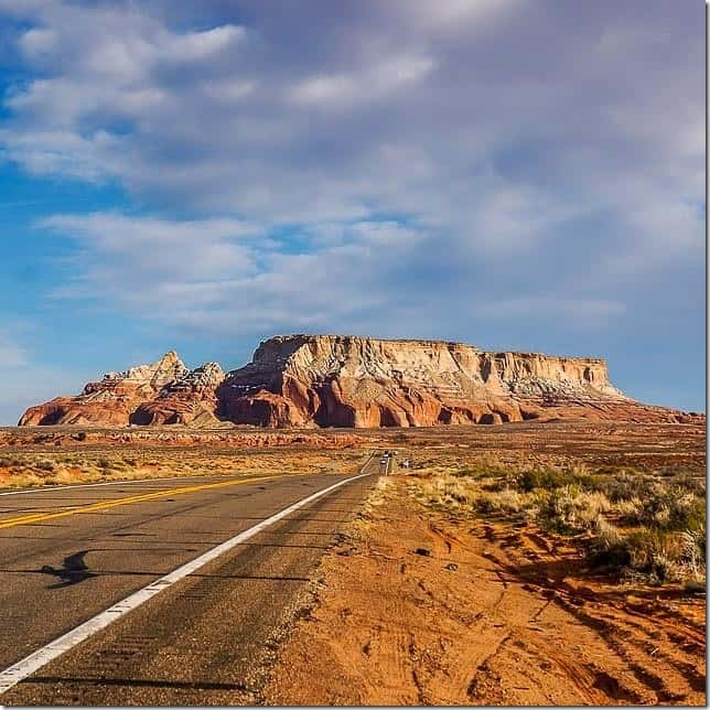 The open road near Page Arizona - 49 Places to Visit on the Ultimate West Coast Road Trip