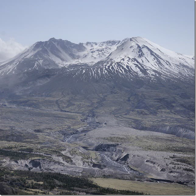 Mount St. Helens in all it's glory
