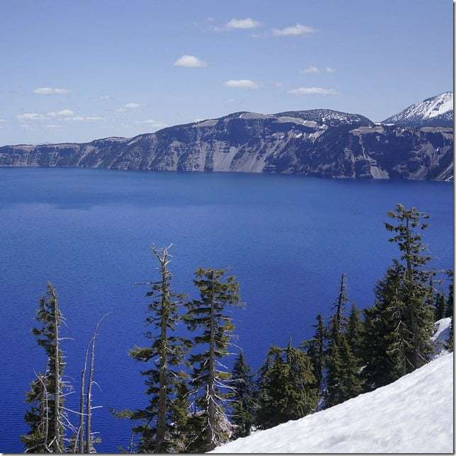 Gaze into the deep blue waters of Crater Lake - 49 Places to Visit on the Ultimate West Coast Road Trip