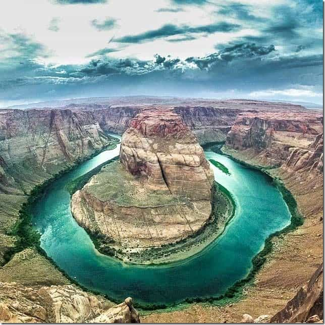 Stand before the incredible Horseshoe Bend near Page, Arizona - 49 Places to Visit on the Ultimate West Coast Road Trip