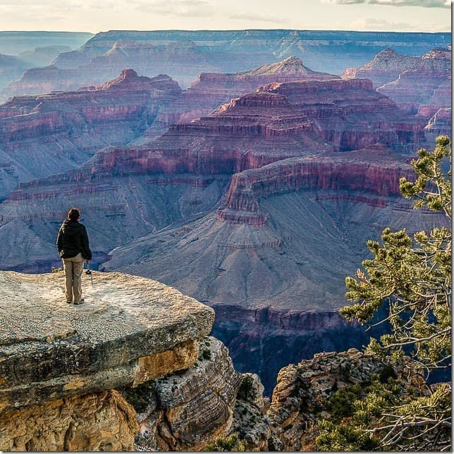 Soak up the beauty at Grand Canyon National Park