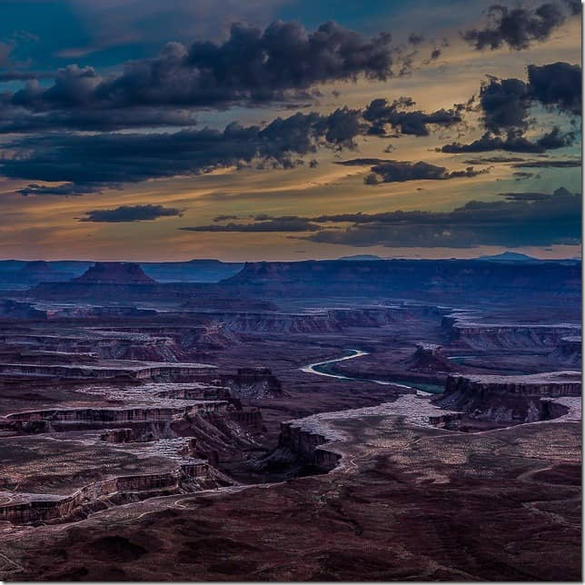 The White Rim of Canyonlands National Park