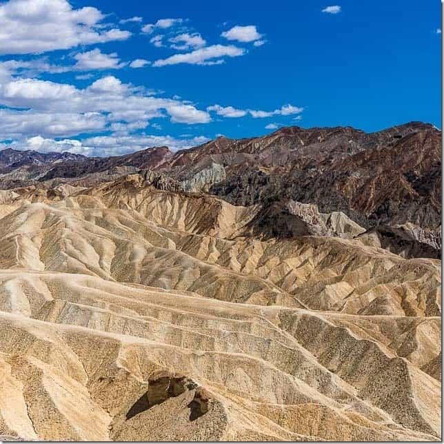 The beauty of Death Valley National Park