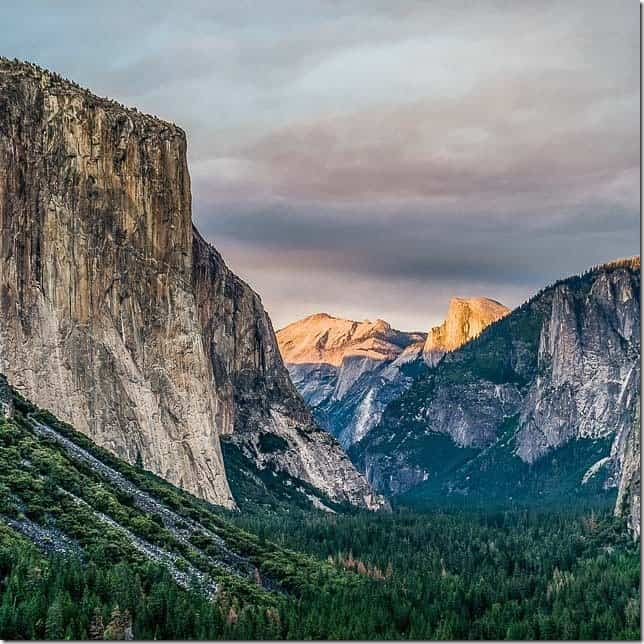 Visit the granite cathedral in Yosemite National Park