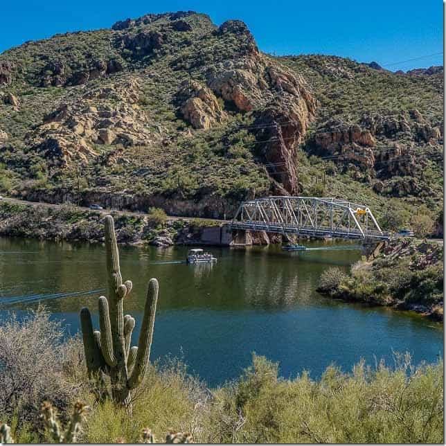 Drive through the Superstition Mountains near Phoenix Arizona - 49 Places to Visit on the Ultimate West Coast Road Trip