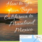 How to Go from Baja California to Mainland Mexico - TMC Ferry from La Paz to Los Mochis travel, mexico, central-america