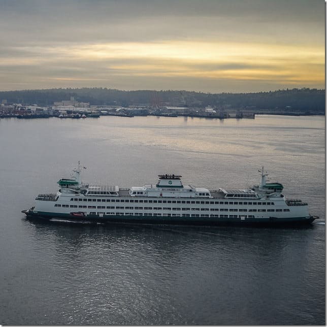 Take a ferry across the Puget Sound