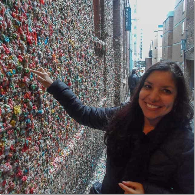Explore the weird side of Seattle - the Gum Wall - 49 Places to Visit on the Ultimate West Coast Road Trip