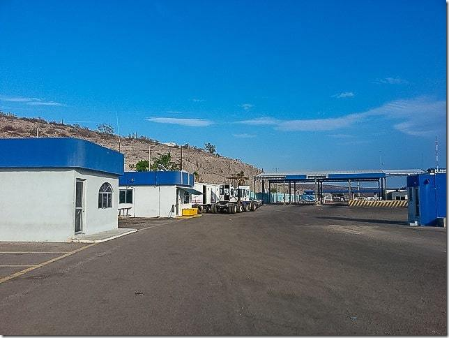 How to Go from Baja California to Mainland Mexico - TMC Ferry from La Paz to Los Mochis