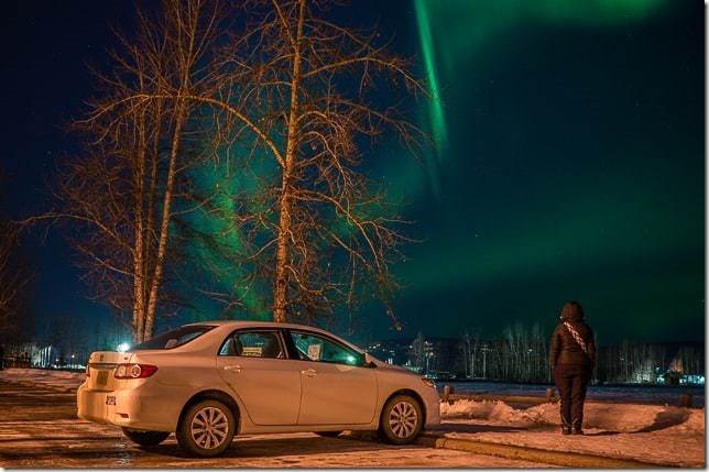 Northern Lights In Fairbanks Alaska 11