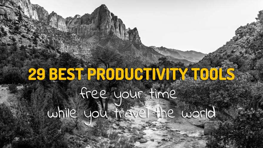 29 Best Productivity Tools