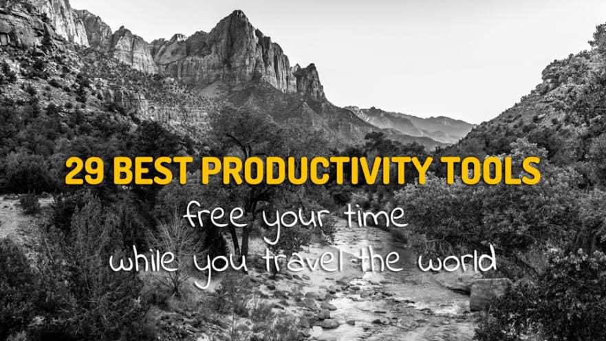 29 Best Productivity Tools