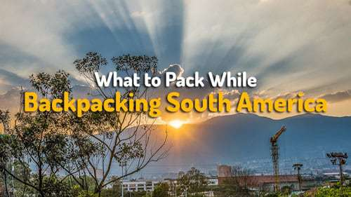 What to pack while backpacking