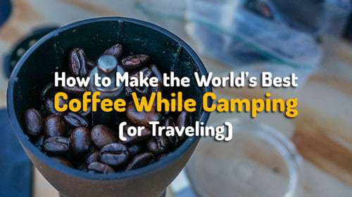 Camping Coffee Maker How To