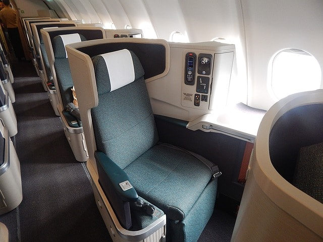Cheap First Class Tickets are a great way to use points!
