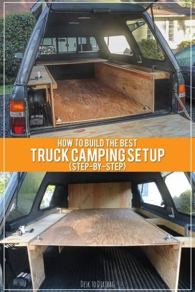 How To Build The Best Truck Bed Camper Setup Step By