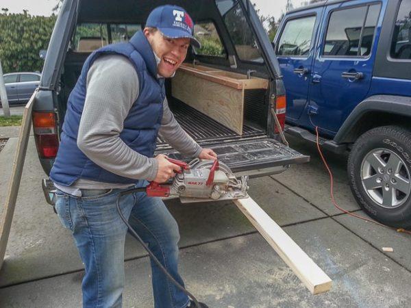 Fun with skill saws