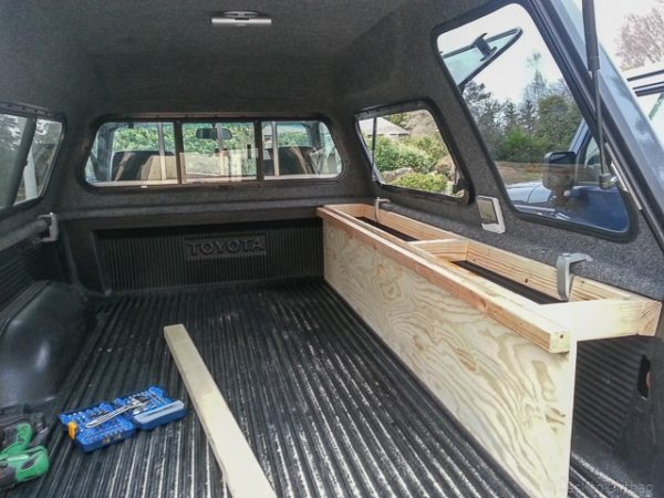 How to build the ultimate truck camper setup step by step for How to build a side by side