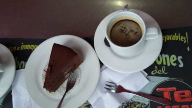Astor Reposteria chocolate cake. The best in town.