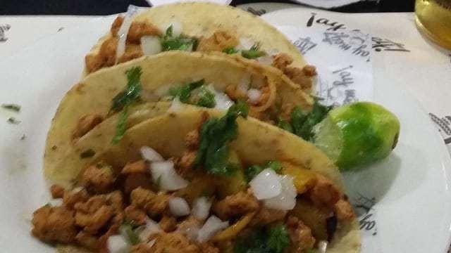 Tacos al Pastor at Ay Wey