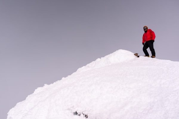 Me on the summit of Mount Adams
