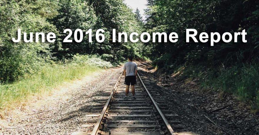 June 2016 Income Report