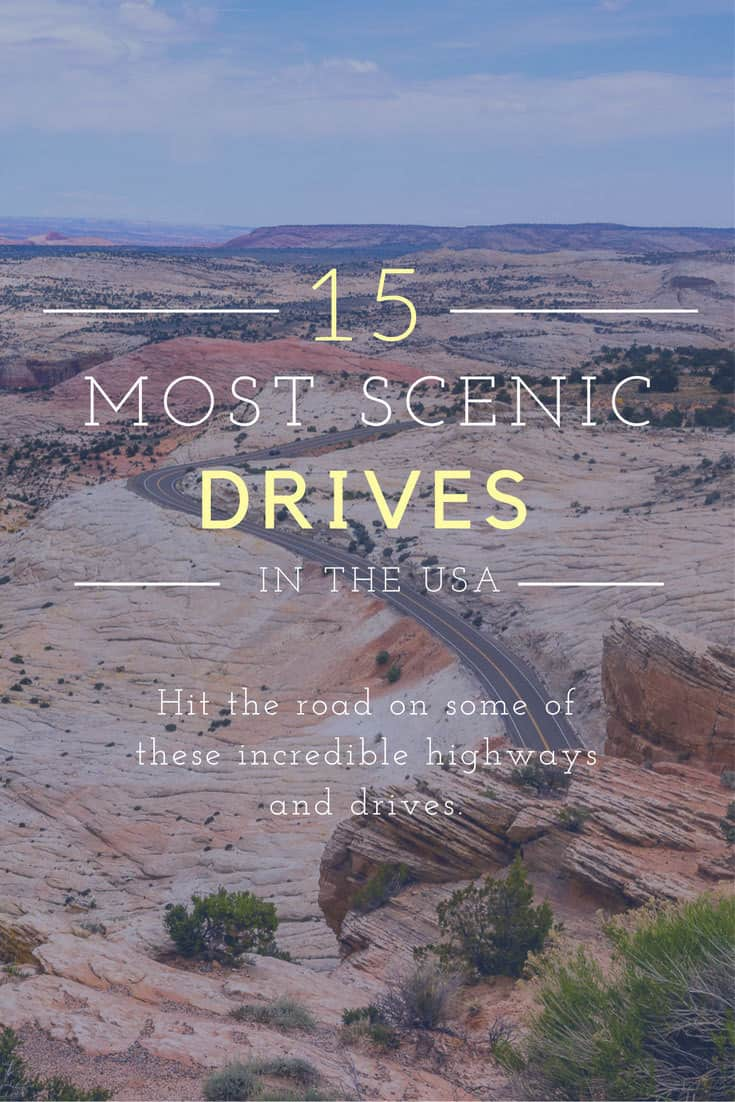 Check out these 15 Most Scenic Drives in America and get ready to hit the road...