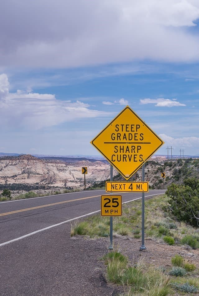 Highway 12 in Utah - One of the 15 Most Scenic Drives in America