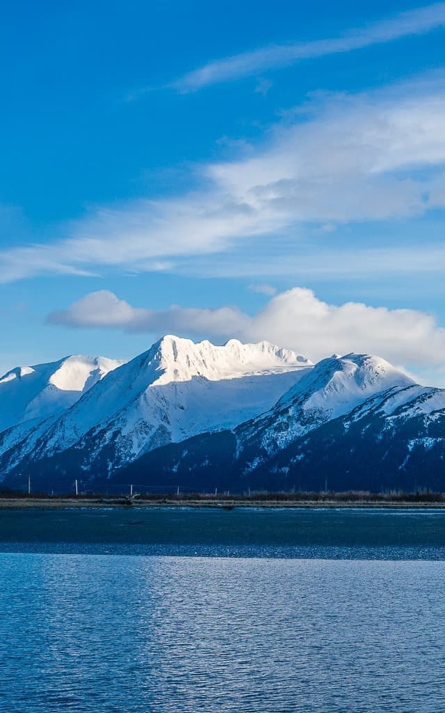Route 1 in Alaska - One of the 15 Most Scenic Drives in America
