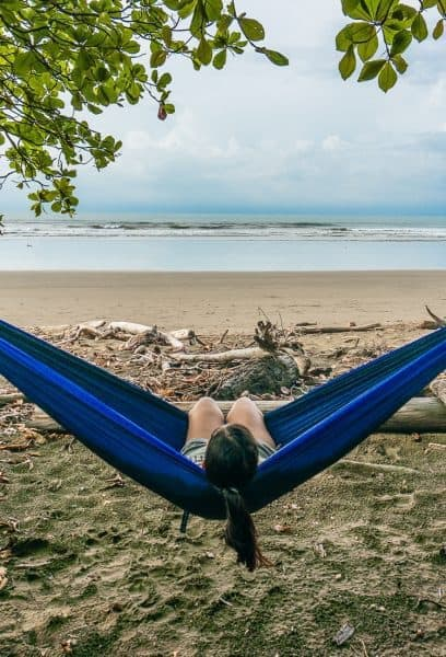 ENO DoubleNest Hammock - Holiday Gift Guide for Adventure Travelers and Outdoor Lovers