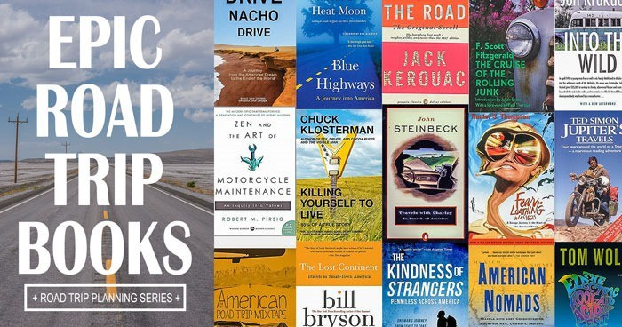 The Ultimate List of Epic Road Trip Books - Desk to Dirtbag on a walk route map, peter jenkins west a walk, peter jenkins new orleans to new york map, hands across america map,