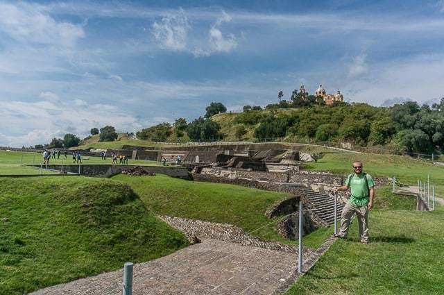 Tombs and Tunnels in Cholula, Mexico and Visiting Puebla