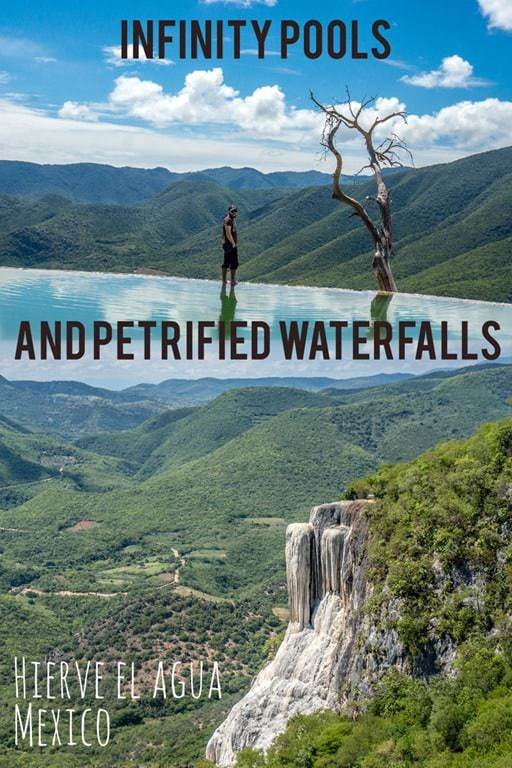 The Petrified Waterfalls and Infinity Pools of Hierve el Agua, Mexico