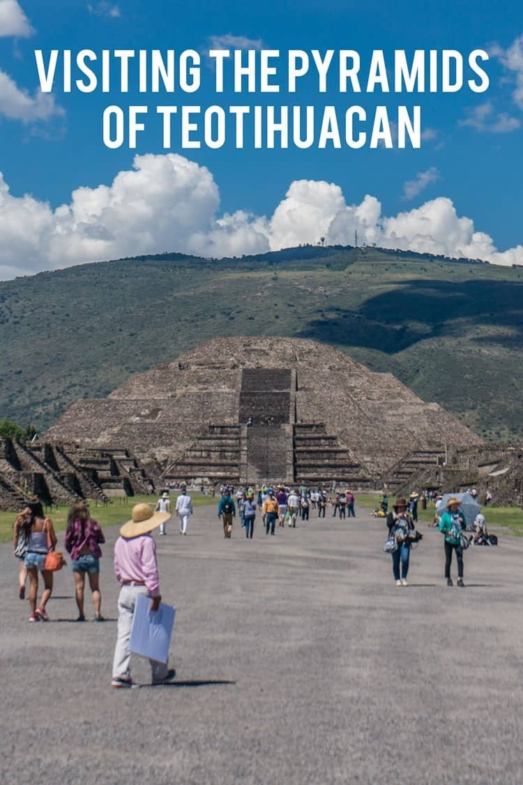 Just outside of Mexico City you will find the towering pyramids of Teotihuacan -- ancient ruins and a spectacular setting.