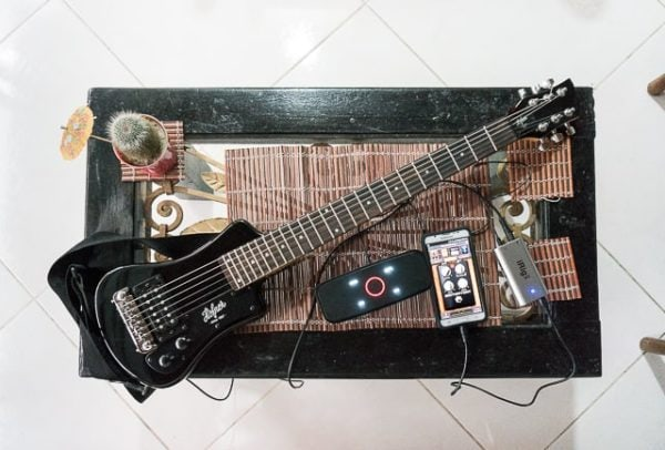 A great travel guitar setup that won't break the bank...