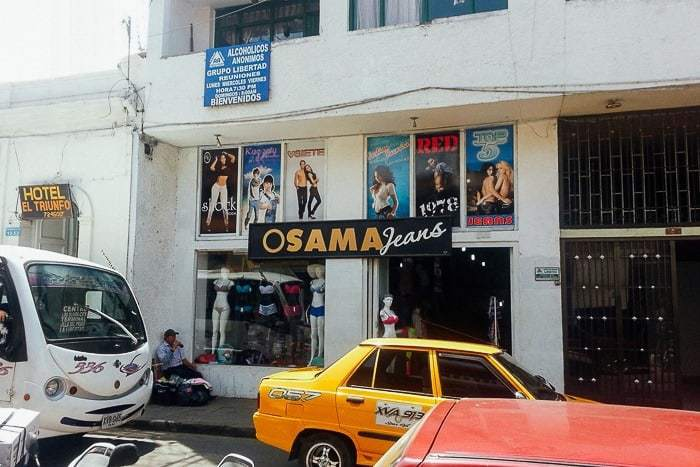 Osama Jeans? - Awesome things to do in San Gil Colombia