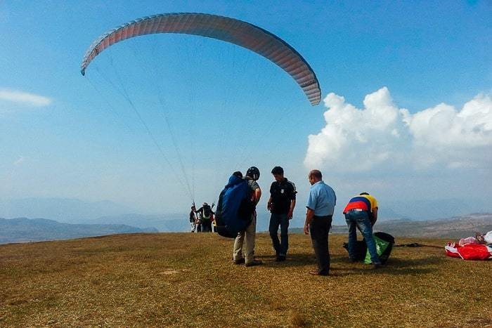 Paragliding in San Gil Colombia - Guide to Traveling to Colombia