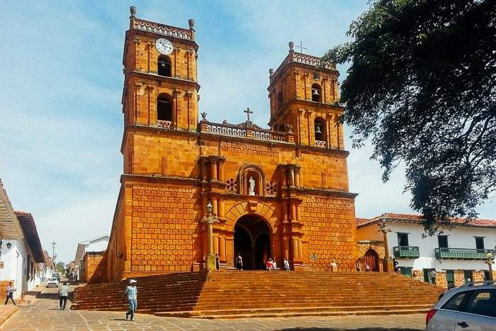 The Church in Barichara Colombia - Awesome things to do in San Gil Colombia