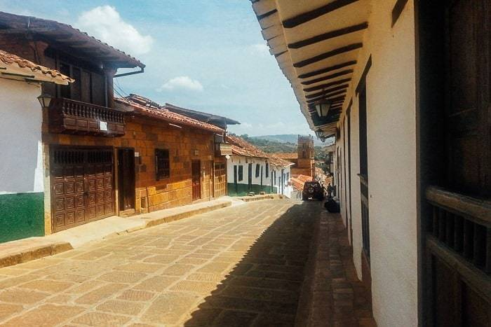 The town of Barichara Colombia - Awesome things to do in San Gil Colombia