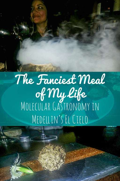 What is molecular gastronomy? It's like science mixed with food... My visit to El Cielo in Medellin, Colombia