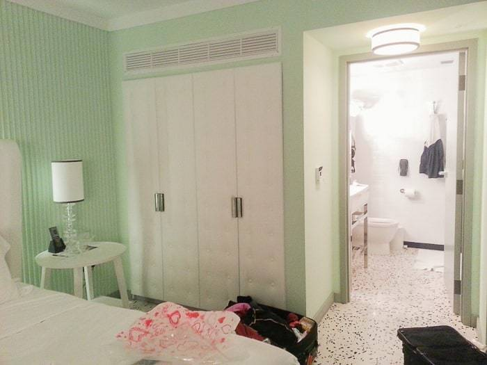The rooms at the Metropolitan by COMO Miami Beach