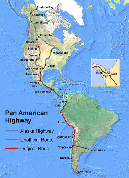 The Ultimate Road Trip - Driving the Pan American Highway travel, south-america